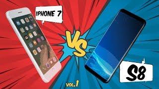 Samsung S8 vs iPhone 7 - Díl 1 [srovnání]
