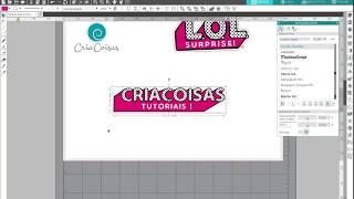(Re)criando o Logo LOL No Silhouette Studio V4