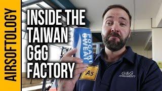 G&G Airsoft Factory - Gonna Make You Sweat | Airsoftology Taiwan VLOG