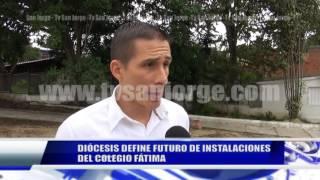 DIÓCESIS DEFINE FUTURO DE INSTALACIONES DEL COLEGIO FÁTIMA