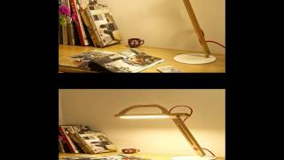Unique Eyeshield Reading Lamps,wooden Table Lamps And Wooden Desk Lamp