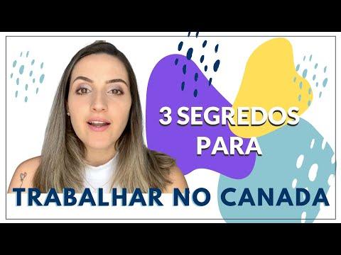 3 SEGREDOS PARA TRABALHAR NA SUA ÁREA NO CANADÁ