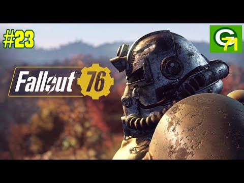 Fallout 76 Ep. 23: Defending Tyler County Speedway (Green & Gold Games)