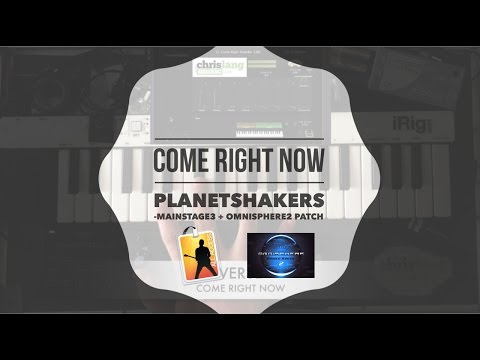 COME RIGHT NOW  Planetshakers Mainstage  Omnisphere Patch Keyboard Lesson