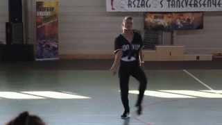 Csobán Tünde - Ritmuscsapatok Országos Táncversenye 2015 EBDC Hip Hop solo dance