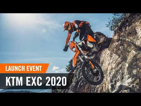 For the Journey to Extreme! The KTM EXC 2020 range media launch - event video | KTM