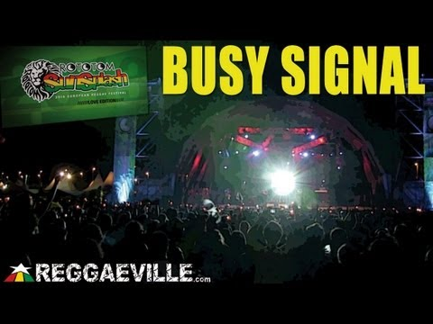 Busy Signal - Jamaica Love @ Rototom Sunsplash 2013 [August 22nd]