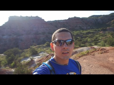 Hiking to the Lighthouse, Palo Duro Canyon in Texas