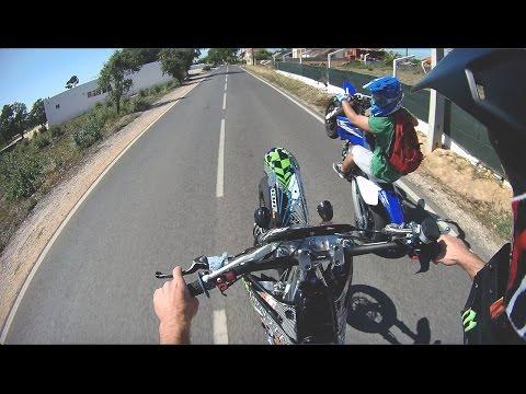 GoPro | SUPERMOTO DAY | YZ450F & CRF450R | DualCam | MARCELO MIRANDA