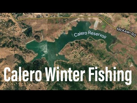 Calero Reservoir Winter Bass Fishing