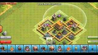 Clash Of Clans Town Hall 5 Hybrid Base (TH5)
