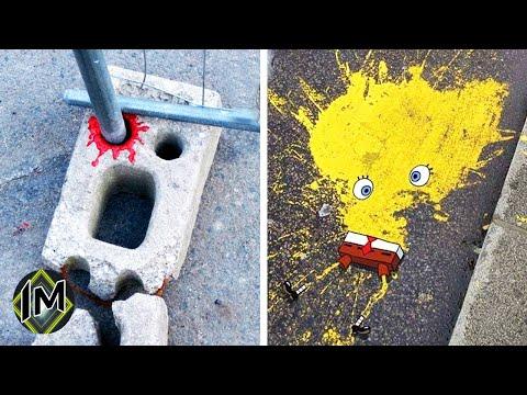20 Graffiti geniali che ti faranno sorridere