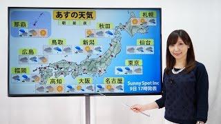 全国の天気予報(51)【Team SABOTEN 気象専門STREAM.(248)】