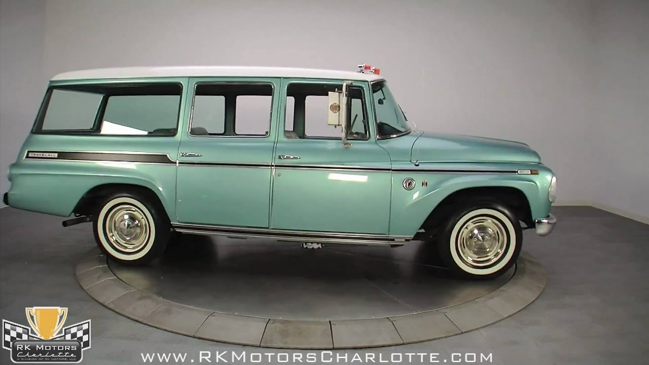 Old Pickup Truck Pictures >> 132309 / 1968 International Harvester Travelall - YouTube