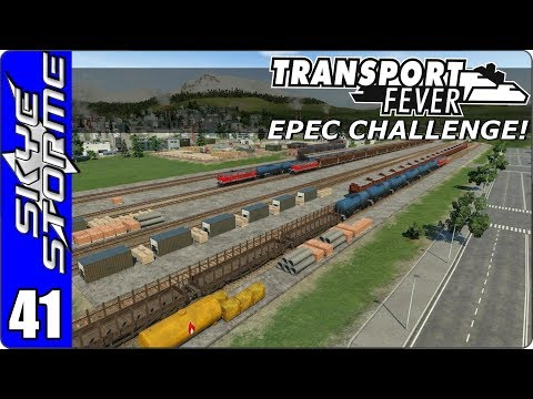 Transport Fever Let's Play/Gameplay - EPEC Challenge Ep 41 - HAPPY NEW YEAR!!
