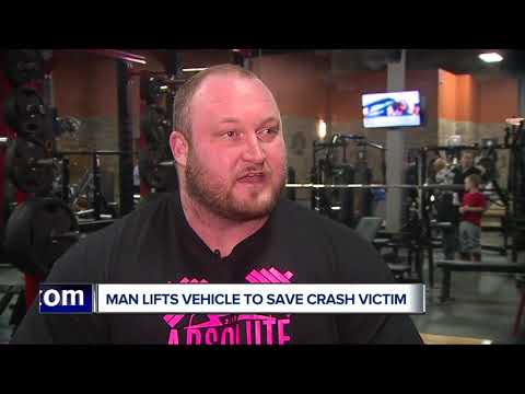 Brooke Taylor - Michigan Man Lifts Vehicle Off Trapped Driver
