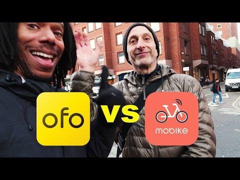 OFO VS MOBIKE IN LONDON #061