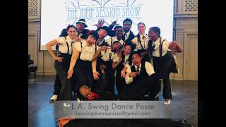 L.A. Swing Dance Posse at The Jump Session Show - Doin' the Jive