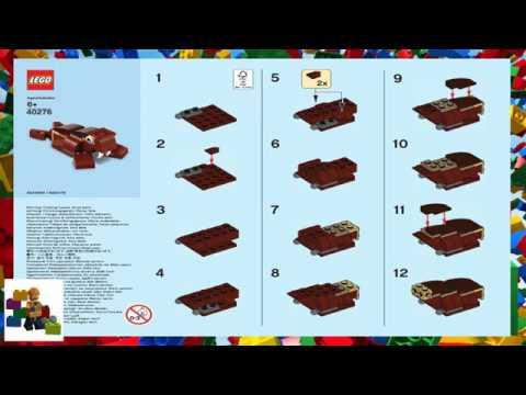 Lego Instructions Monthly Mini Model Build 40276 Walrus 01