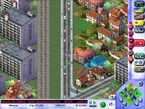 SimCity 3000 Unlimited: Fun With Riots