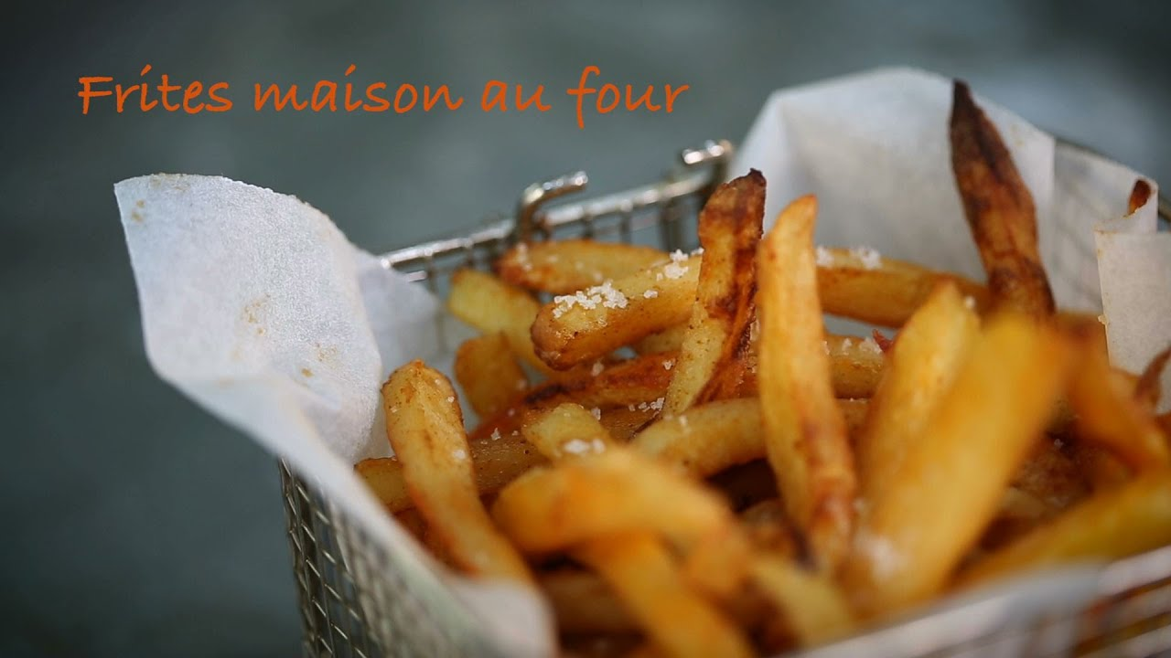 Frites maison au four   YouTube Frites maison au four