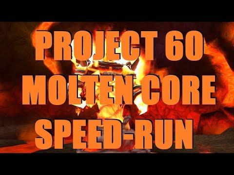 Bajheera - MOLTEN CORE SPEEDRUN (Project 60) - Level 60 Warrior Vanilla WoW Raid