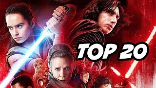 Star Wars The Last Jedi Easter Eggs   Secret Cameos And References