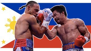 Manny Pacquiao VS Keith Thurman // FILIPINO PARTY in the USA