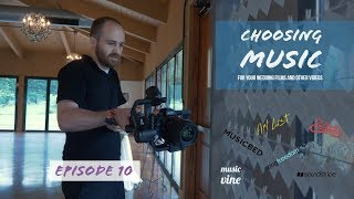 Choosing Music For Your Wedding Films and Other Videos - Vlog Ep. 10