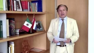Estudia en Holanda: el Embajador de los Países Bajos en México