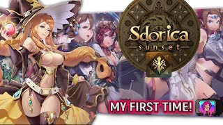 "🏰Mobile Puzzle RPG ""Sdoirca Sunset"" First Look 