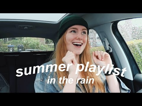 A Summer Playlist Video That Will Get Copyrighted, But In The Rain.