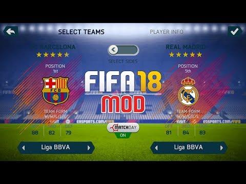 FIFA 18 Ultra Edition   FIFA 14 V10 MOD   Android   Unlocked - Squad Update