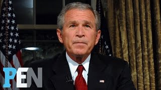 George W. Bush On Donald Trump, Michelle Obama, 9/11 & Much More | PEN | People