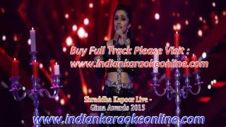 Shraddha Kapoor Live Karaoke | Gima Awards 2015 Karaoke