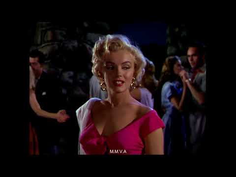 "Marilyn Monroe In ""Niagara"" -  ""Kiss"""