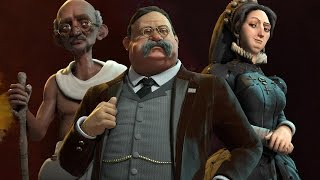 Civilization 6 Review in Progress Commentary (Video Game Video Review)