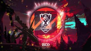 zedd   ignite worlds 2016   league of legends
