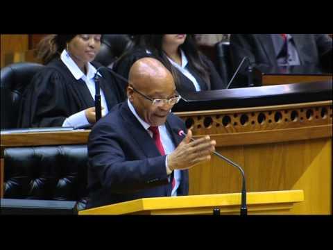 [MUST WATCH] President Zuma jokes about Nkandla in Parliament