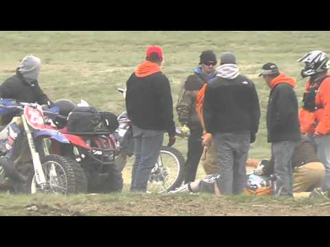Horrible Crash at the 2011 Desert 100 in Odessa, Wa