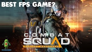 COMBAT SQUAD ( Android / iOS ) Gameplay - HD (Best FPS Game)