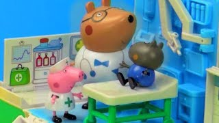 Peppa Pig Toys - Nurse Peppa Pig helps Danny Dog! - Stop Motion thumbnail
