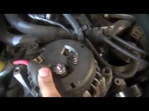 Alternator replacement Chevrolet S10 4.3L V6 2000-2004 Install remove replace from YouTube · Duration:  5 minutes 43 seconds