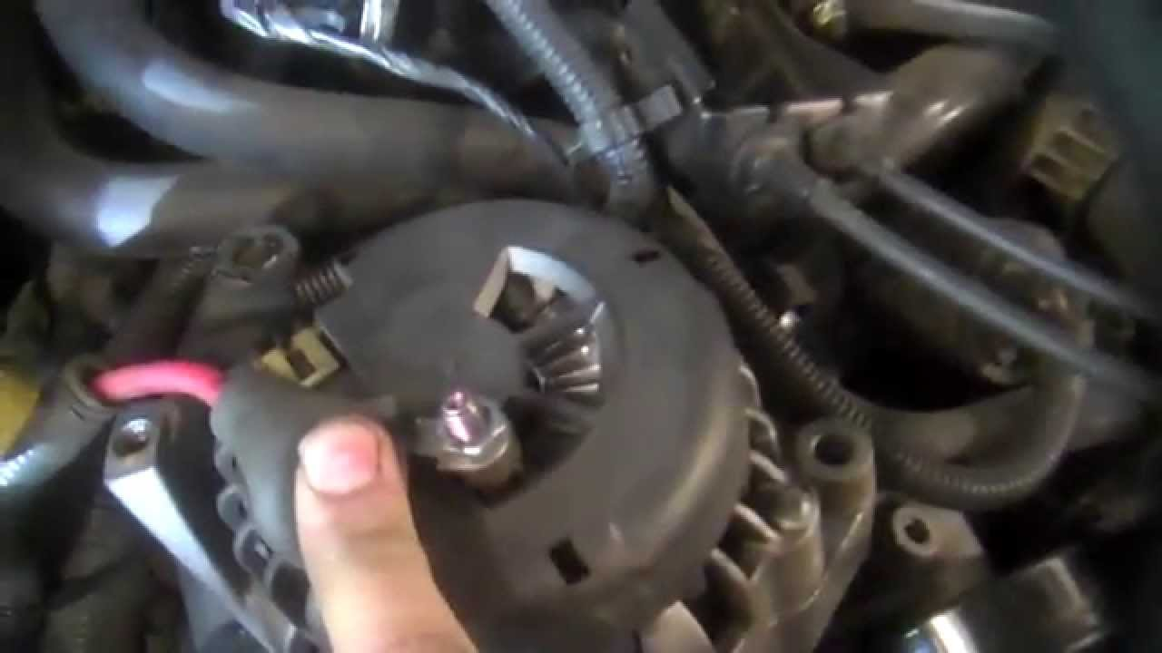 chevrolet s10 wiring diagram 1994 yamaha banshee 2 alternator replacement 4.3l v6 2000-2004 install remove replace - youtube