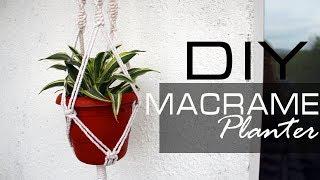 Макраме КАШПО для Цветов | DIY Декор Комнаты
