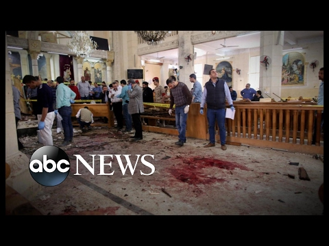Palm Sunday terror attacks rock Egypt