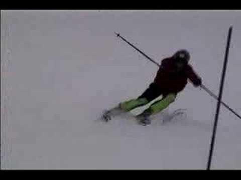 Slalom Training at Mt. Spokane