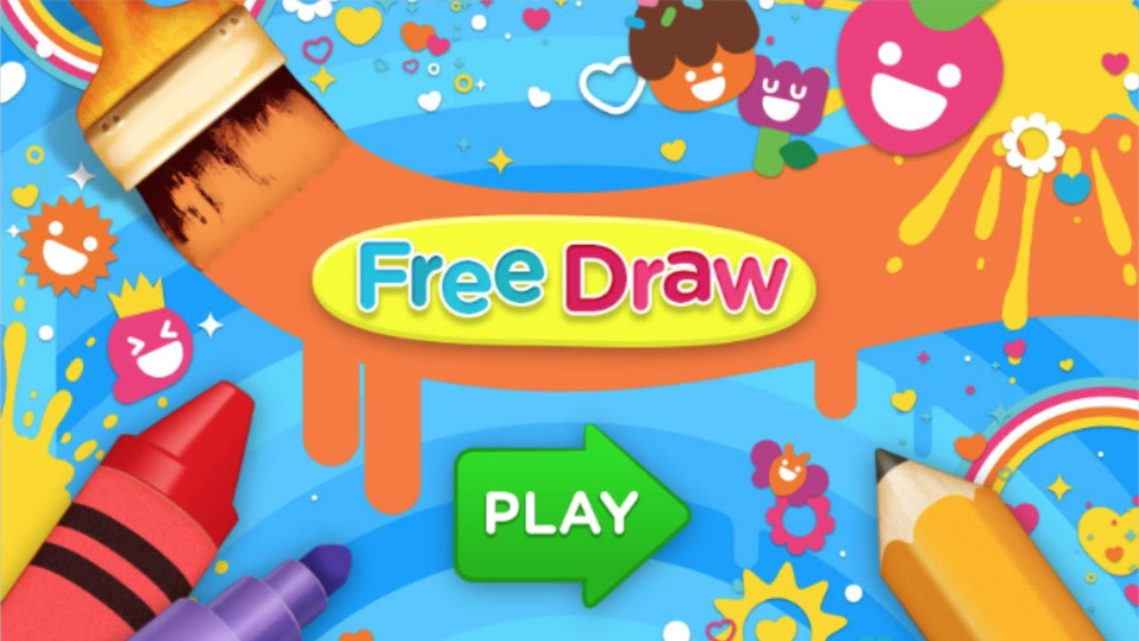 Nick Jr.: Free Draw Games - for KIDS - YouTube