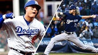 Los Angeles Dodgers vs Milwaukee Brewers NLCS Preview