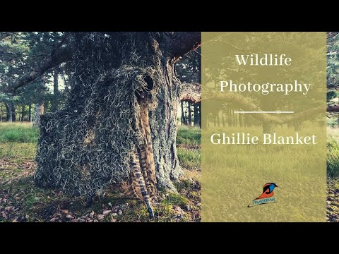 How To Use The Ghillie Blanket | Wildlife Photography